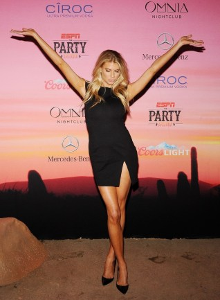 Charlotte McKinney - 12th Annual Leather and Laces Super Bowl Party Night - 01