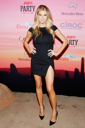Charlotte McKinney - 12th Annual Leather and Laces Super Bowl Party Night - 08