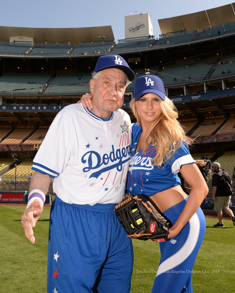 Charlotte McKinney - Dodgers Hollywood Stars softball - 11