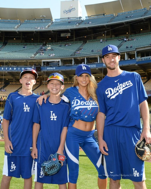Charlotte McKinney - Dodgers Hollywood Stars softball - 13