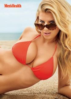 Charlotte McKinney in bikini by Sasha Eisenman for Men's Health Photo shoot - 01
