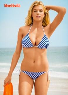 Charlotte McKinney in bikini by Sasha Eisenman for Men's Health Photo shoot - 03