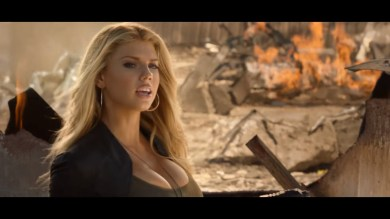 Charlotte McKinney on Carl's Jr. & Call of Duty Black Ops 3 Commercial - 07