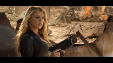 Charlotte McKinney on Carl's Jr. & Call of Duty Black Ops 3 Commercial - 09