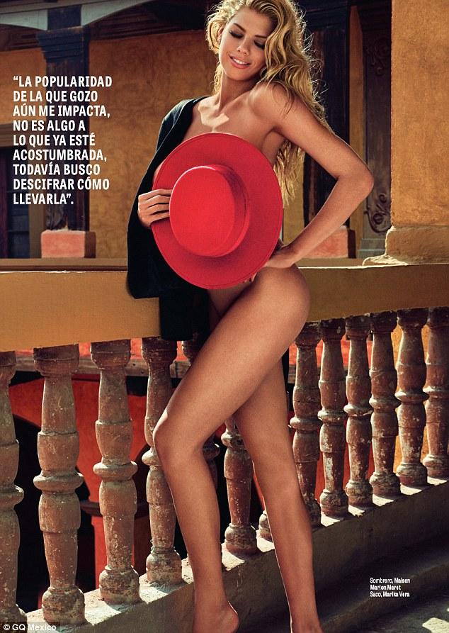 Charlotte McKinney - Cover GQ Mexico Magazine February 2016 - 04