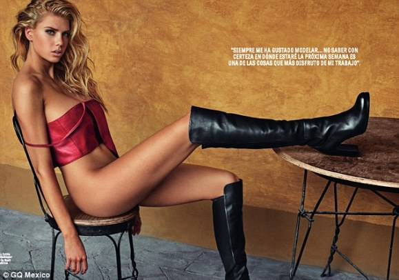 Charlotte McKinney - Cover GQ Mexico Magazine February 2016 - 06