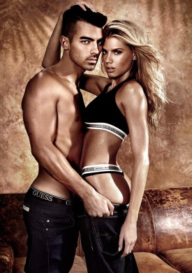Charlotte McKinney and Joe Jonas strip off for sexy new Guess underwear campaign - 01