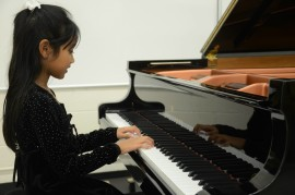 Sophia performs at the NCMTA Honors Recital