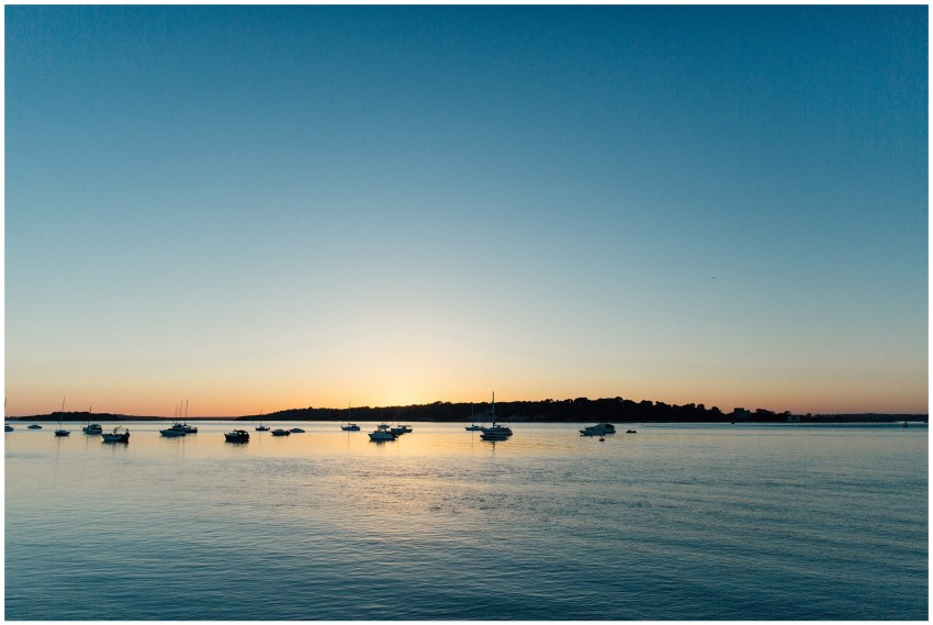 Sunset at Brownsea Island, Poole Harbour