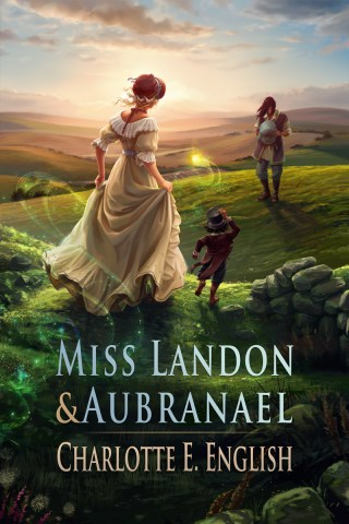 Cover Reveal: Miss Landon and Aubranael