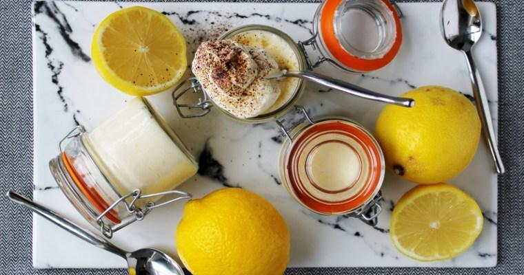 Citronfromage med lakrids