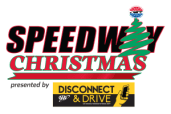 Speedway Christmas presented by Disconnect and Drive Logo