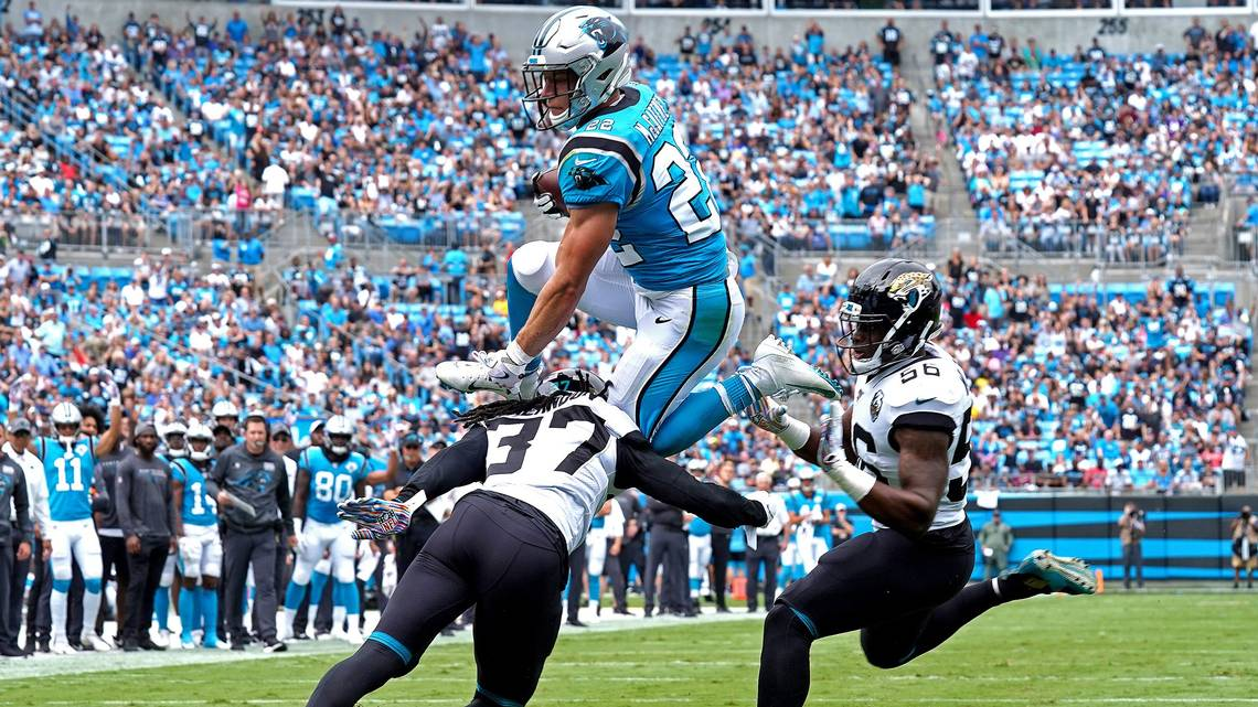 Analysis: Panthers are being carried by Christian McCaffrey | Charlotte  Observer