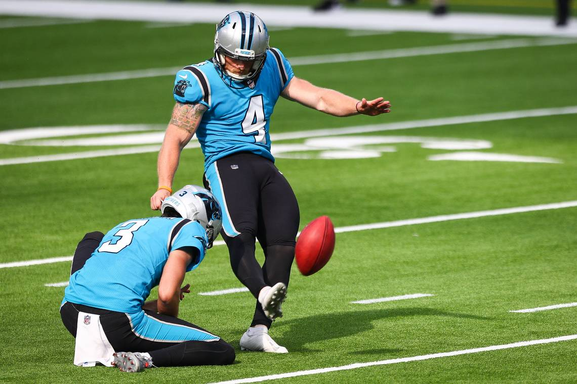 Panthers are trying out kickers if Joey Slye can't go | Charlotte Observer