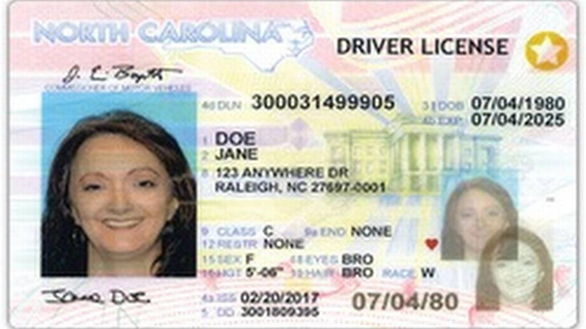 Drivers 2013 Drivers License North License North 2013 Carolina Carolina