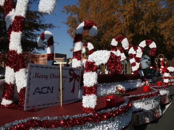 concord christmas parade