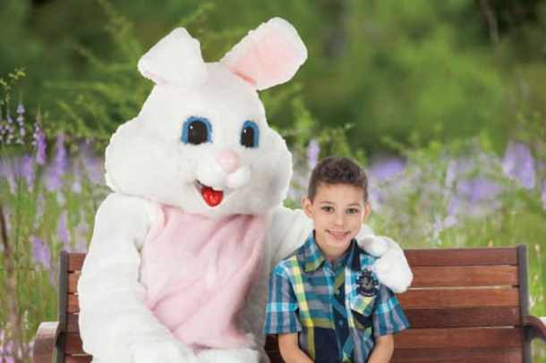 easter bunny bass pro shops