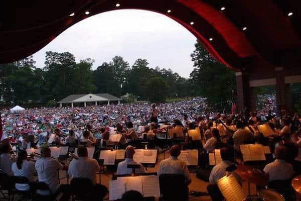 Kannapolis summer entertainment series charlotte symphony