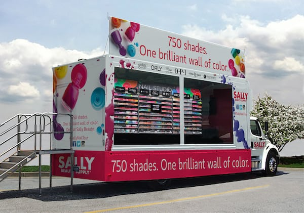 Free mini-manicures from Sally Beauty Mobile Nail Salon - Charlotte ...