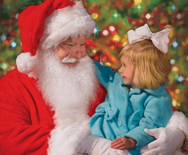 free santa photo bass pro shops