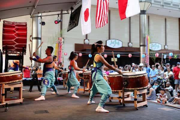 Bon Odori Japanese Festival