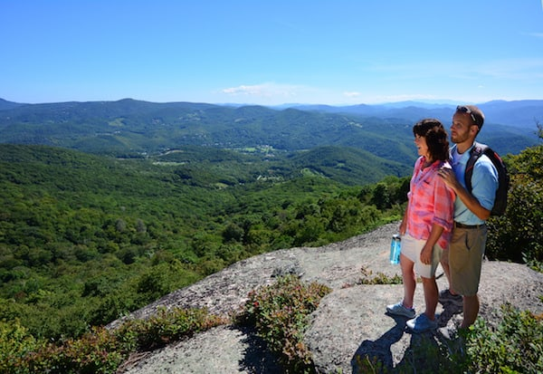 wine and hike beech mountain