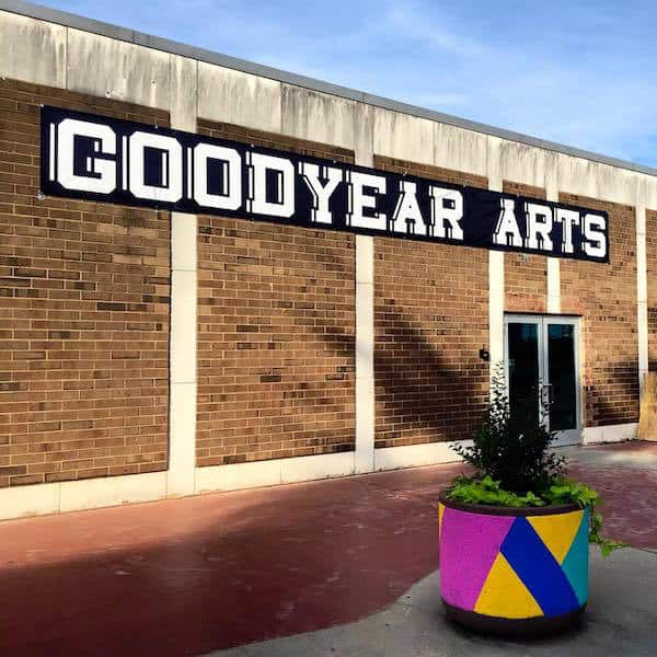 goodyear-arts-sign