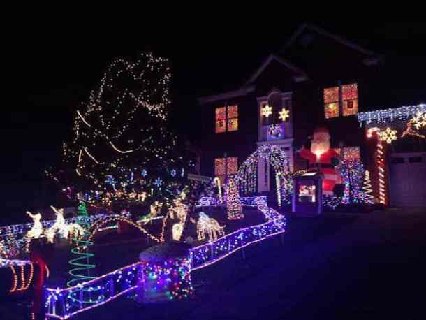 Christmas Lighting.Best Christmas Light Displays In The Charlotte Area 2018