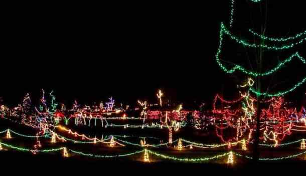 Best Christmas Light Displays In The Charlotte Area 2018
