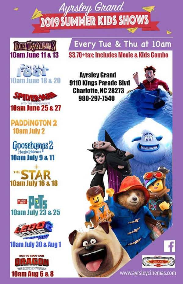 5 Summer Movie Programs for Kids: Most $1 or less