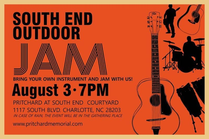 South End Outdoor Jam - Charlotte On The Cheap