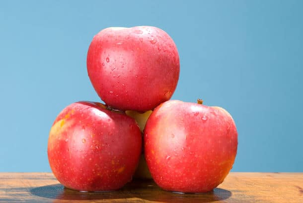 Apples With Rose Color Special Species Apple