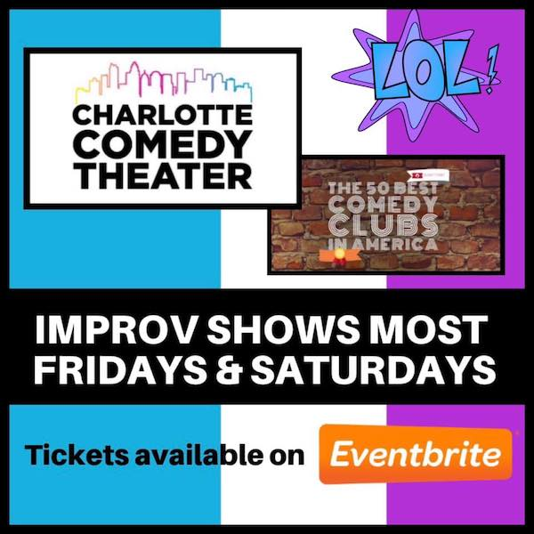 Improv Comedy at Charlotte Comedy Theater