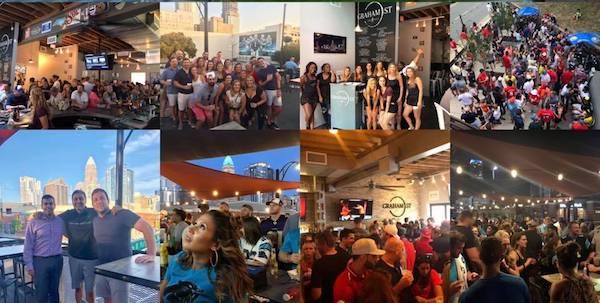 graham street pub photo collage