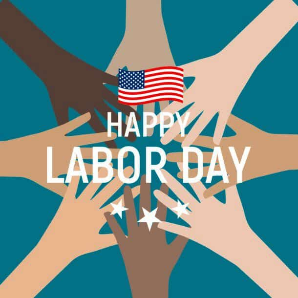 Labor Day In Usa Poster Background Vector Illustration Eps10 Labor Day In Usa Poster Background Vector Illustration
