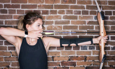 $27 for a One-Hour Practice Session with Bow-and-Arrow Rental for Two at Barefoot Archery ($50 Value)