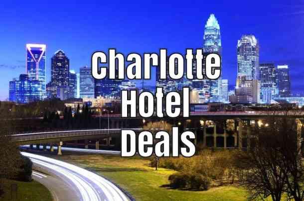 charlotte hotel deals