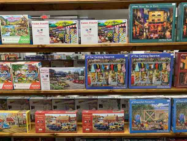 Puzzles at James Sweet Spot in Kannapolis