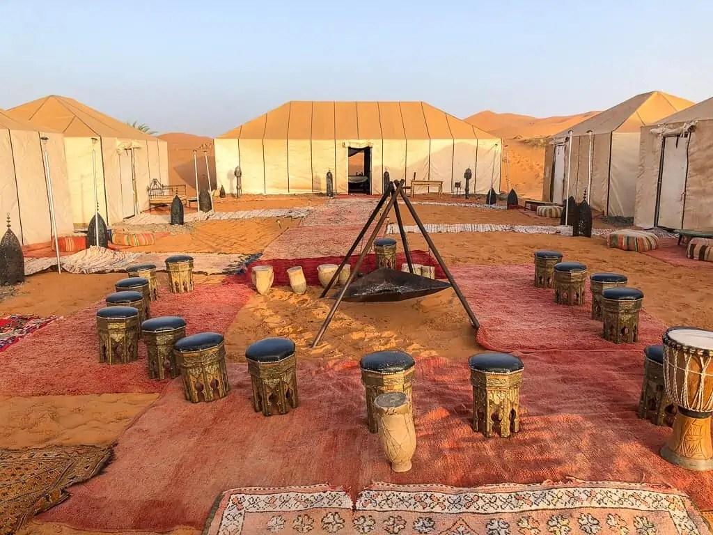 Maroc Merzouga desert camp