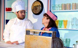 Wally's Cafe: Daulton and Charlene