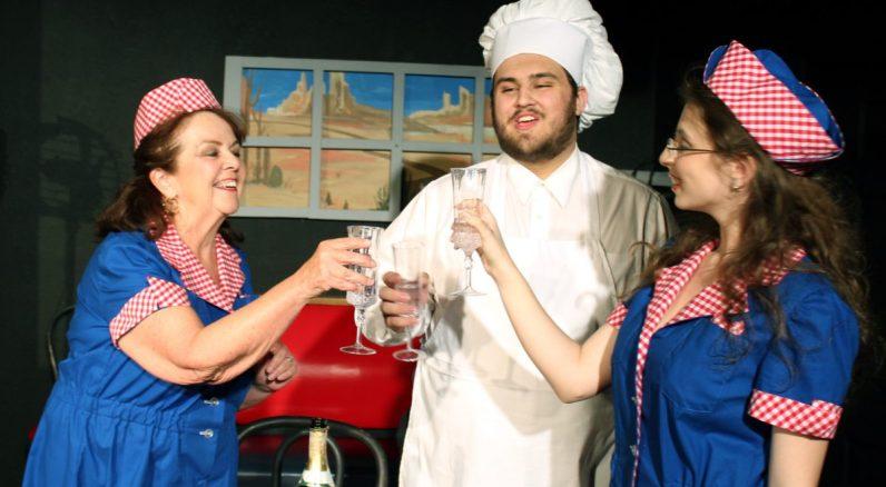 Wally's Café: Charlene, Daulton, and Cheyenne