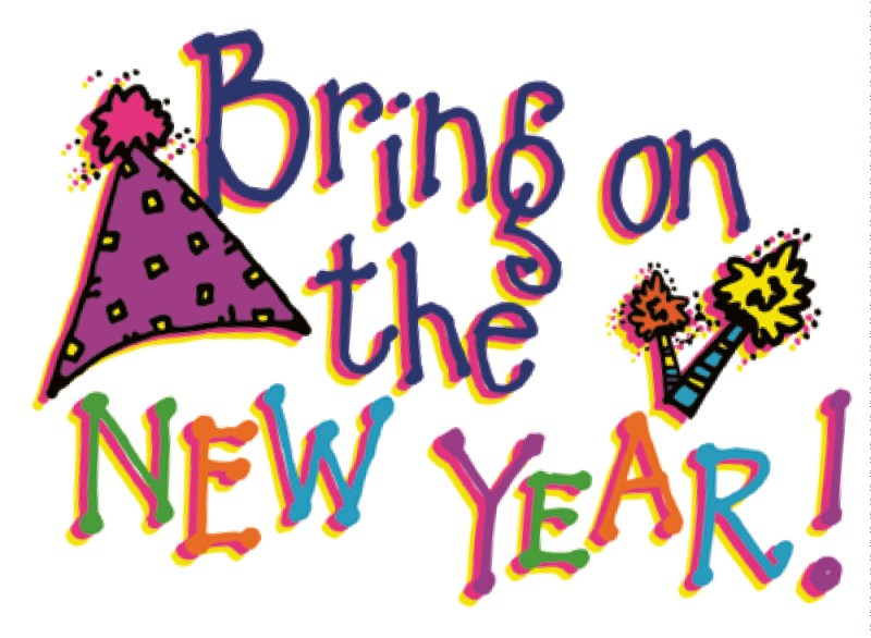 Bring on the New Year!