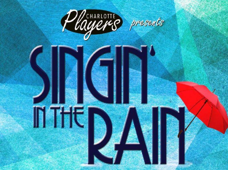 Poster Art Singing in the Rain