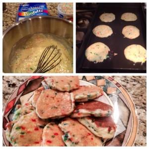 Fun Fetti Pancakes