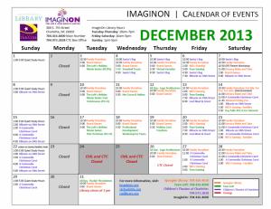 ImaginOn December 2013