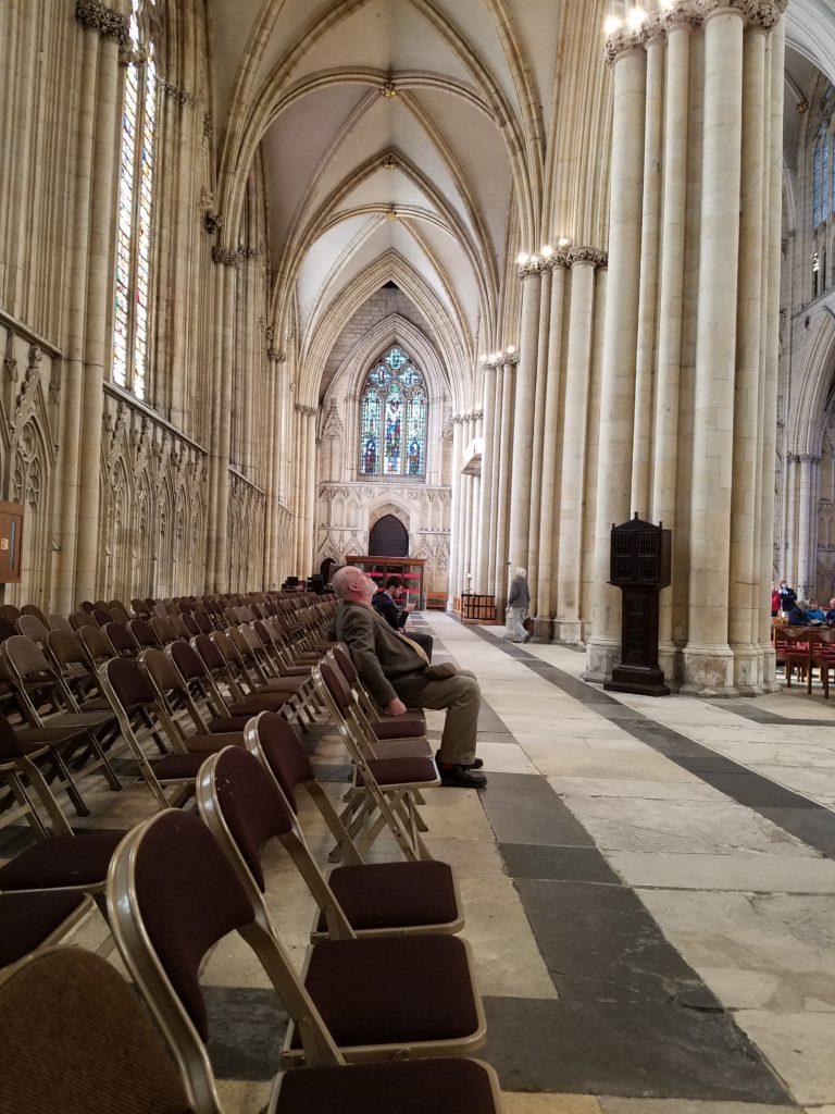 The York Minster October 2017