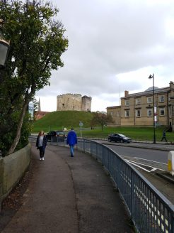 Outside the City Walls, York, England
