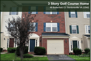 Golf Course Home for Sale in Gordonsville VA | 48 Butterfield Ct