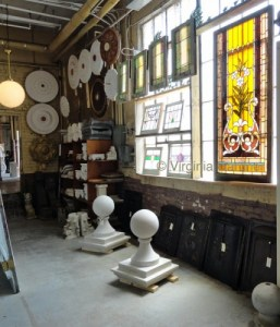 Inside Black Dog Salvage