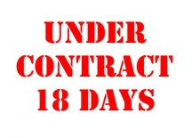 Under contract MERGED